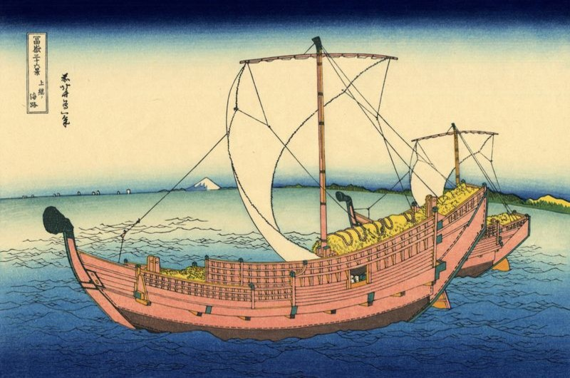 The Kazusa sea route